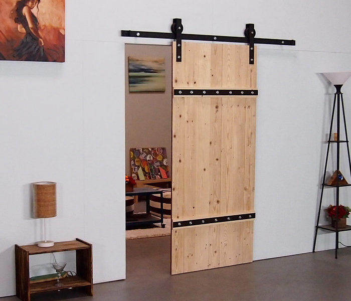 Square Barn Door Hardware