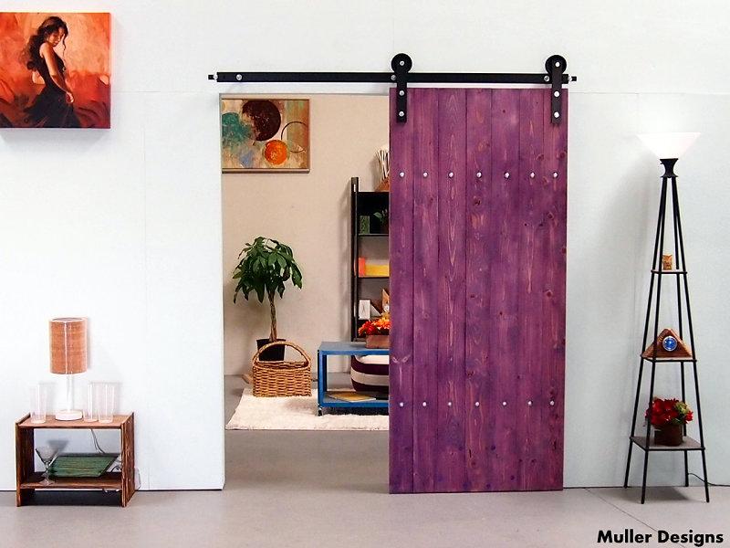 Flat Track Barn Door Hardware Mller Designs