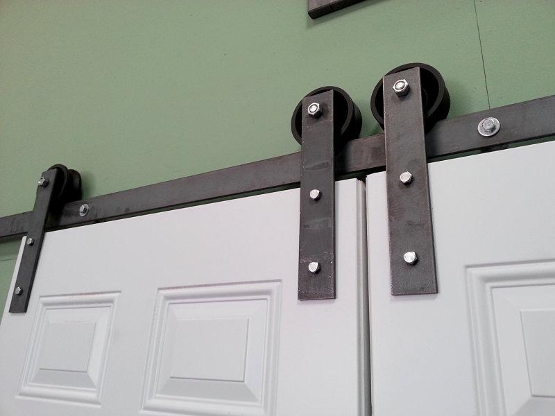 Flat Track Barn Door Hardware