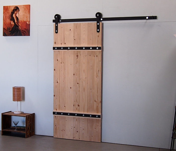 Industrial Classic Barn Door Hardware