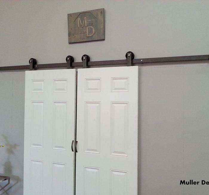 Classic Top Mount Barn Door Hardware