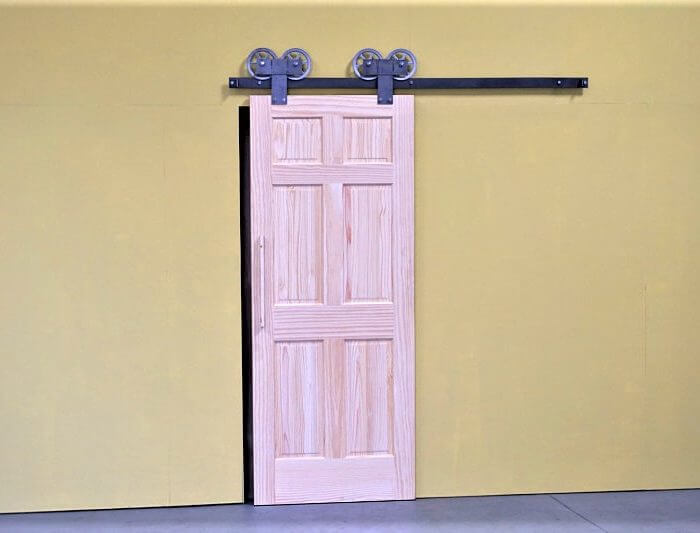 DOUBLE SLIDING BARN DOOR HARDWARE ...