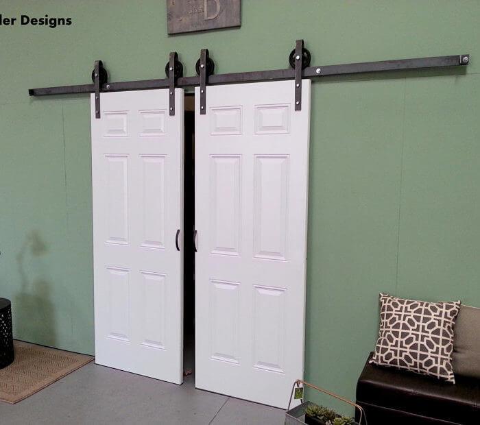 European Style Barn Door Hardware