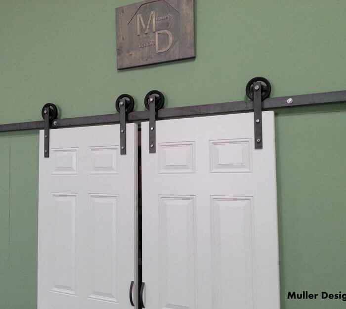Sliding Closet Door Hardware Muller Designs