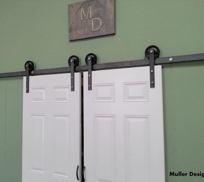 European Style Vintage Barn Door Hardware