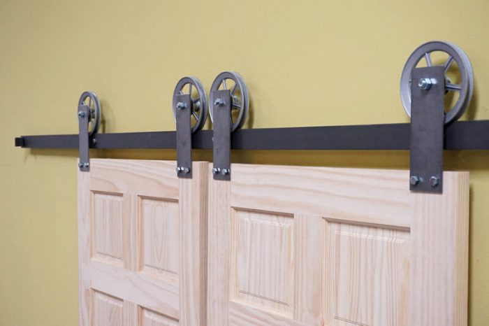 Modern Barn Door Hardware