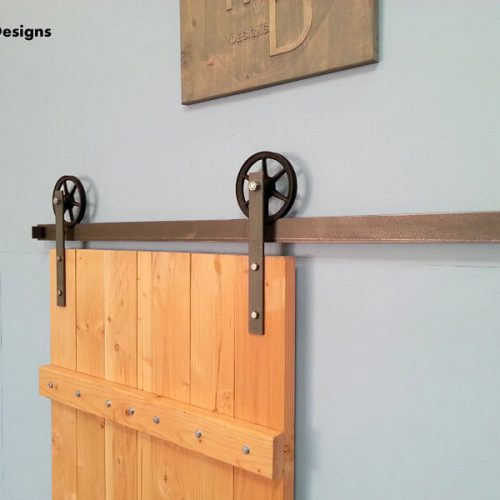 Exterior barn door hardware barn door hangers tracks for Exterior sliding barn door hardware