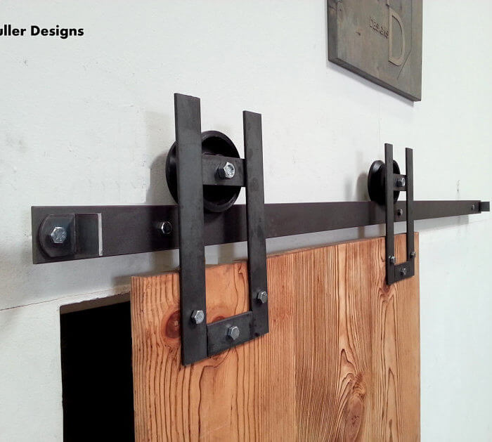 HORSESHOE SLIDING BARN DOOR HARDWARE ...