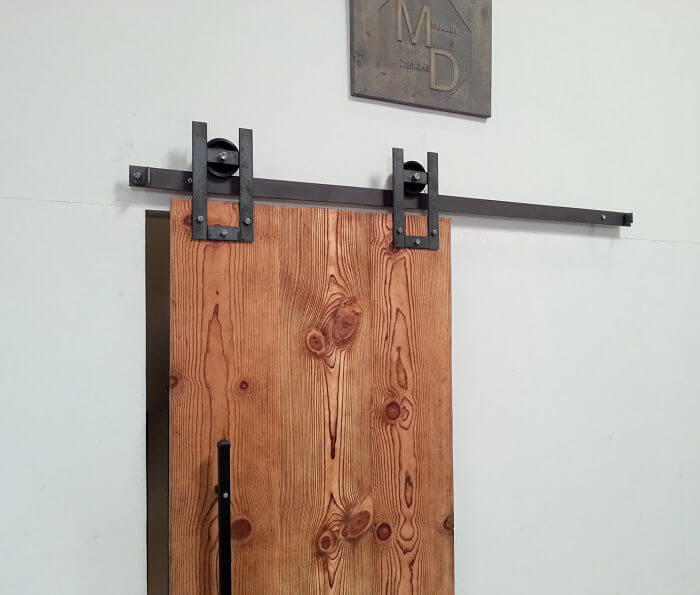 HORSESHOE SLIDING BARN DOOR HARDWARE