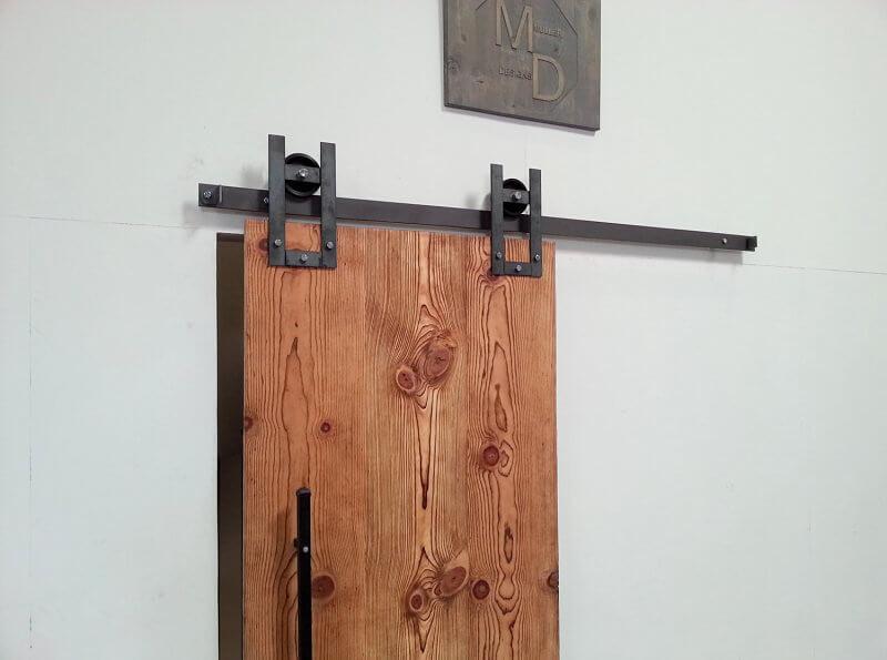 Horseshoe Sliding Barn Door Hardware