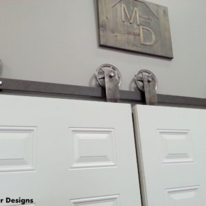 top mount barn door hardware