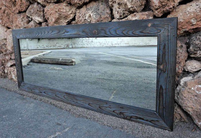 Navy Blue Mirror