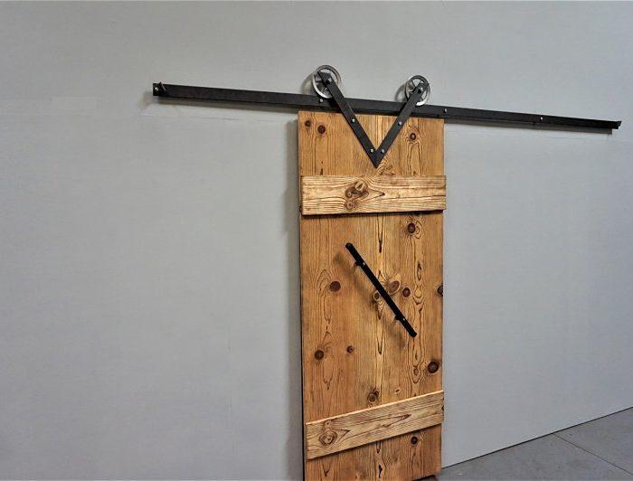 V Model Barn Door Hardware