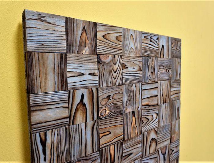 Wood Wall Art, Reclaimed Wood