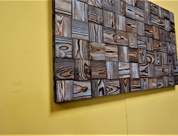 Awesome RECLAIMED WOOD WALL ART ...