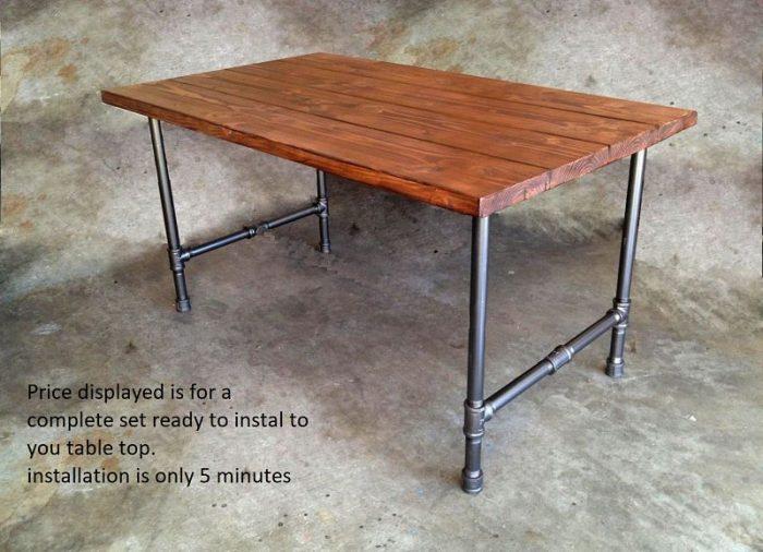 Pipe Table Legs