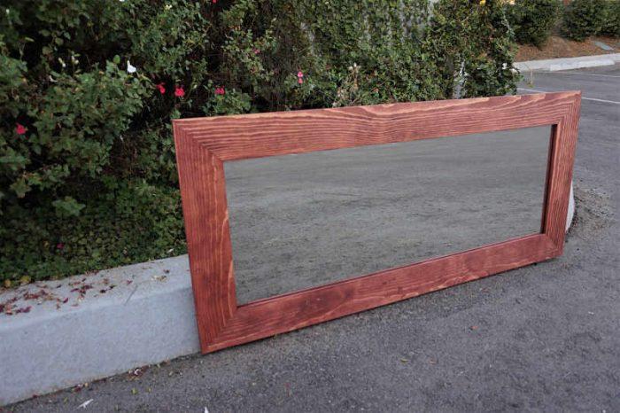 Red Oak Mirror