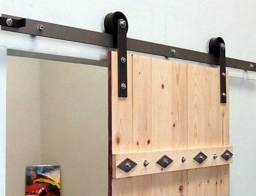 Barn door hardware advantages