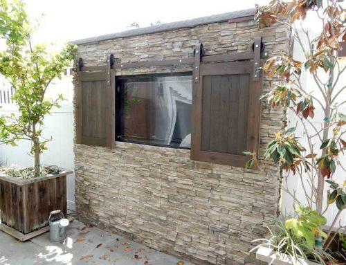 Barn door hardware styles